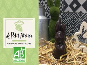 Le Petit Atelier - Lapin De Pâques En Chocolat Noir