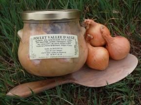 La Ferme de Bonneval - Poulet bio cuisiné façon Vallée d'Auge 800g