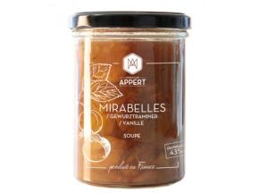 Monsieur Appert - Mirabelles/gewurztraminer/vanille - Soupe Dessert