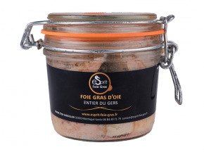 Esprit Foie Gras - Foie Gras Entier D'oie Du Gers - 300 Grs