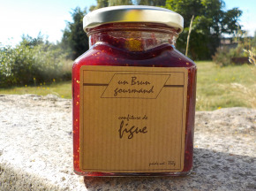 Un brun gourmand - Confiture De Figue