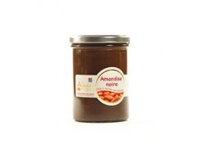 Les amandes et olives du Mont Bouquet - Amandise au chocolat noir et à l'amande 450g
