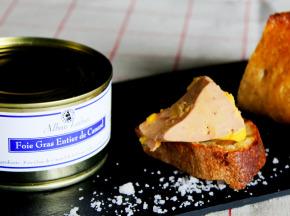Alban Laban - Foie gras entier de canard 180g en boîte