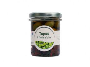 Les amandes et olives du Mont Bouquet - Tapas confits (tomates, amandes, olives) 180 g