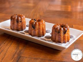 Les Cannelés d'Audrey - Cannelés Pépites De Chocolat - 9 Pièces - Sans gluten