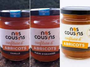 Nos cousins Conserverie - Trio De Confitures: Abricot, Abricot-vanille, Abricot-fleur D'oranger 3x240g