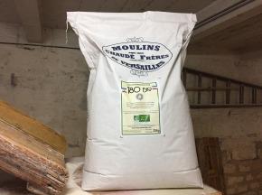 Moulins de Versailles - Farine De Blé Bio T80 / Bise - 25kg