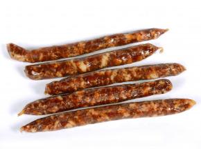 Charcuterie Montauzer - Saucisses sèches au Piment d'Espelette - Le paquet de 5 - 170 g
