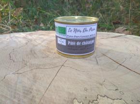 Le Noir du Picou Elodie Ribas - Pâté de Porc Noir Gascon Bio à la Châtaigne de nos bois