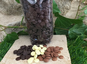 Totale Gourmandise - Pistoles De Chocolat Noir