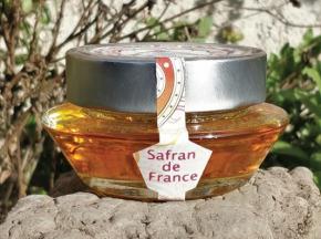 Safran des Volcans - Confit de Champagne Rosé au Safran 100g