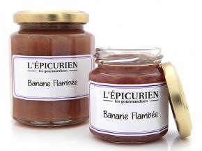 L'Epicurien - BANANE FLAMBEE