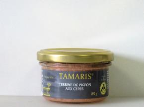 TAMARIS Artisan de Provence - Terrine De Pigeons Aux Cèpes