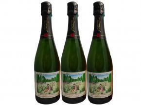 Champagne J. Martin et Fille - Cuvée Des Amoureux De Peynet Brut Tradition X3
