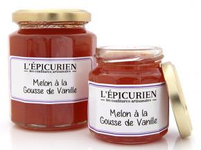 L'Epicurien - MELON A LA GOUSSE DE VANILLE