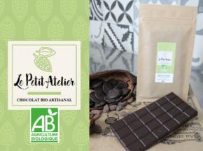 Le Petit Atelier - Nahua - Tablette Chocolat 100% Pure Pâte De Cacao