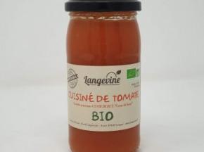 EARL Langevine - Cuisiné De Tomate Biologique Cuor Di Bue 37cl