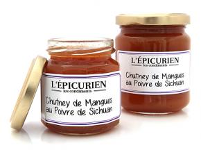 L'Epicurien - CHUTNEY DE MANGUES AU POIVRE DE SICHUAN