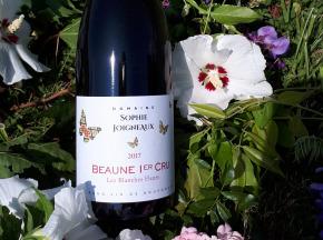 """Domaine Sophie Joigneaux - AOP Beaune 1er Cru """"les Blanches Fleurs"""" 75 Cl Millésime 2017"""