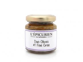L'Epicurien - DUO OLIVES ET FOIE GRAS