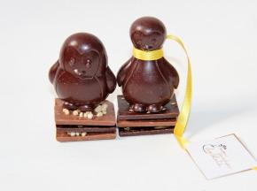 Mon Jardin Chocolaté - Pingouins En Chocolat Noir