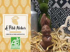 Le Petit Atelier - Lapin De Pâques En Chocolat Au Lait