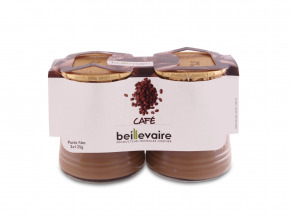 BEILLEVAIRE - Crèmes desserts x2 - café