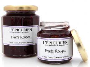 L'Epicurien - FRUITS ROUGES ( Fraise,Cerise, Framboise, Groseille)