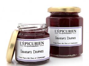 L'Epicurien - SAVEURS DIVINES (Fraise Mara des Bois, Champagne)