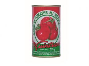 Conserves Guintrand - Purée De Tomate De Provence Mi-réduite 11% - Boite 1/4