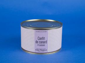 Chez Morille - Confit De Cuisse De Canard Par 4