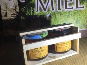 Rucher du Viala - Coffret Cadeau Bois Deux Miels De 500 G