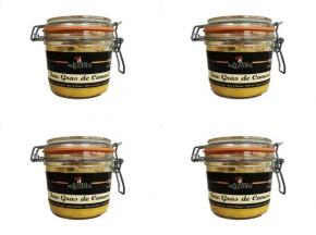 La Ferme du Luguen - Foie Gras Entier Semi Conserve 180 g - 3 Pots Achetés, le 4ème Pot Offert