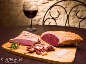 Chez Morille - Magret De Canard Fumé Tranché