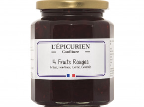 L'Epicurien - Quatre Fruits Rouges (fraise, Framboise, Cerise, Groseille)