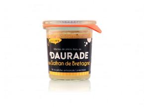 Conserverie artisanale de Keroman - Rillettes De Dorade Au Safran Breton Bio