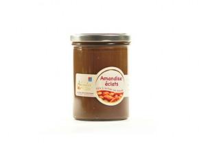 Les amandes et olives du Mont Bouquet - Amandise 450gr – pâte à tartiner chocolat et éclats d'amande