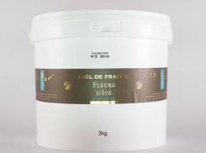 Domaine Apicole du Pillardon - Miel de France Fleurs Fleurs d'Été n°2 Récolte 2019 3kg