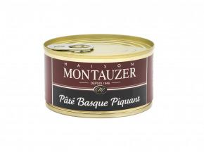 Charcuterie Montauzer - Pâté basque piquant - 190g