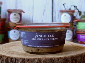 La Bourriche aux Appétits - Terrine d'anguille de Loire aux Herbes