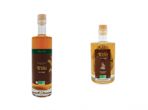 "Ti'Bio - Les Arrangés de Célérine - Pack ""gourmand"" Punch Au Rhum Bio : Macadamia Vanille & Assemblage N°1"