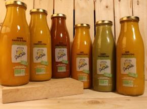 Atelier PotPote - Conserverie Artisanale Bio - Soupes Originales d'hiver - 12x50cl