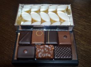 Philippe Segond MOF Pâtissier-Confiseur - Ballotin de 125g de chocolats provençaux et calissons