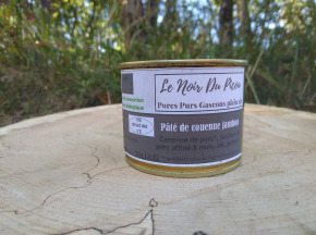 Le Noir du Picou - Pâté de Couenne Jambon Affiné de Porc Gascon Bio