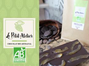 Le Petit Atelier - Tablette Chocolat Et Citrons Confits