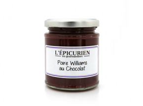 L'Epicurien - POIRE WILLIAMS AU CHOCOLAT