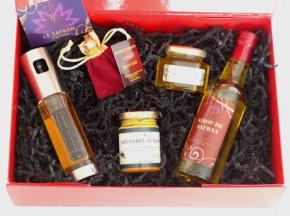Le safran - l'or rouge des Ardennes - Coffret De Produits Au Safran