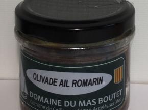 Les Herbes du Roussillon - Olivade Ail Romarin