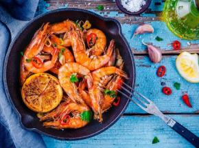 Ô'Poisson - Crevettes Cuites - Les 500g