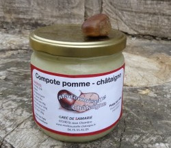 Mademoiselle Châtaigne - Compote Pomme Chataigne